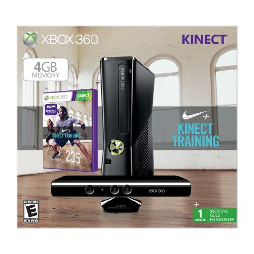 Xbox 360 4GB with Kinect Nike+ Bundle  for more details visit  : http://game.megaluxmart.com/
