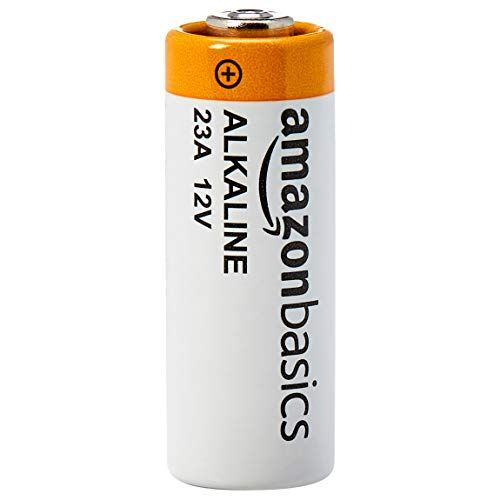 Amazonbasics 23a Alkaline Battery Pack Of 4 Alkaline Battery Glassware Battery Shop