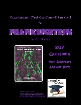 Frankenstein study guide questions
