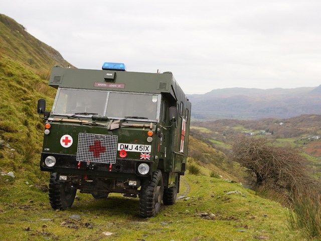 Forward Control Ambulance | http://www.lro.com/features-reviews/featured-vehicles/1411/forward-control-ambulance/