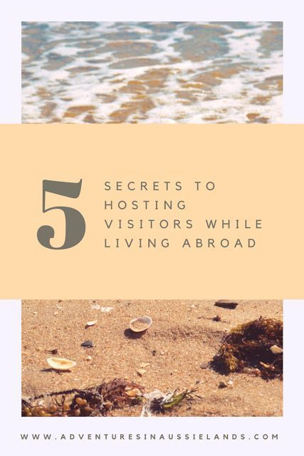 Introducing loved ones to the new country you live in can be a challenge. Here are some tips on how to host visitors and still go about your day to day life.