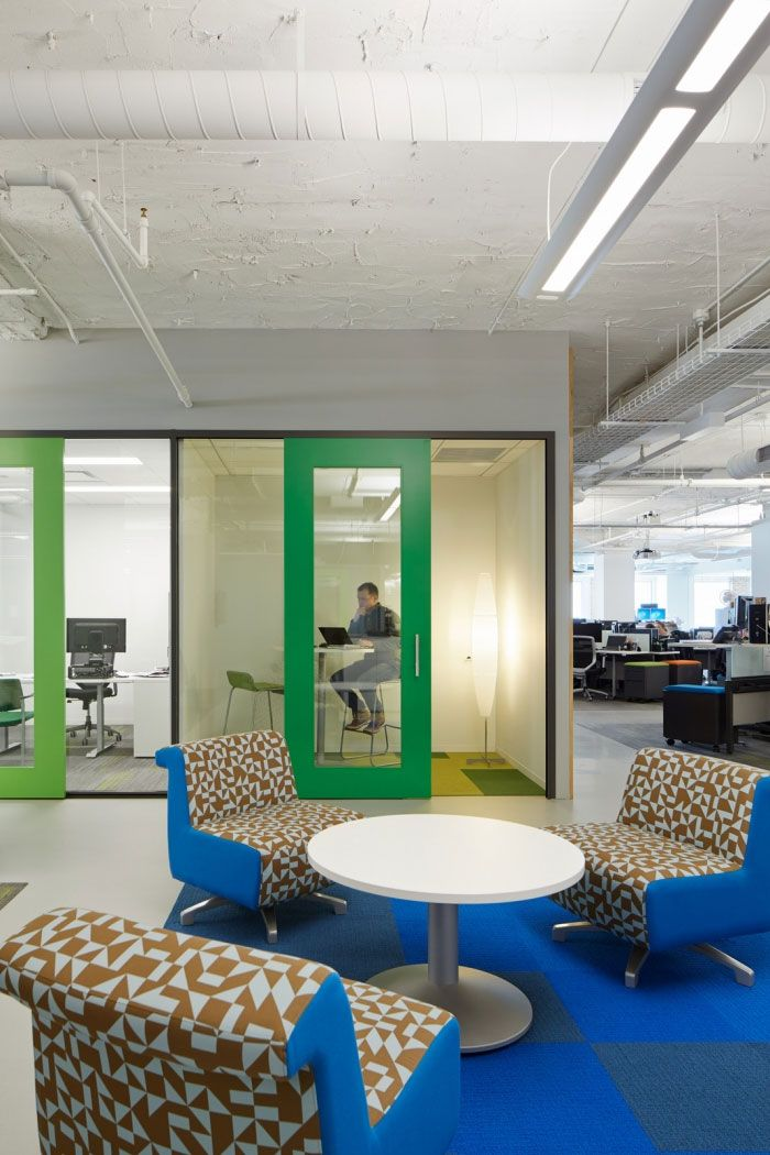 Chicago Office Interior Design Adapts To Different Work Styles