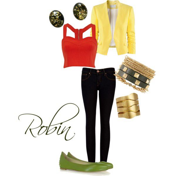 Robin outfit