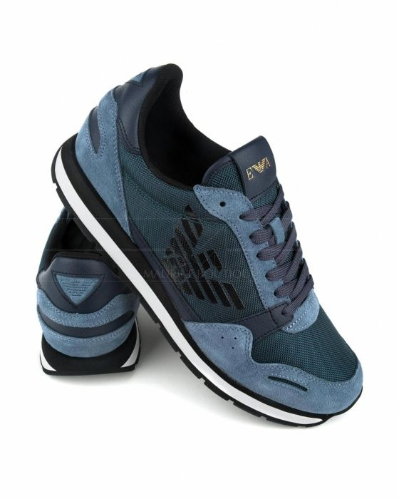 huge discount 40bed be70d Zapatillas Emporio Armani - XL710 A234   Gloria   Armani shoes mens,  Sneakers fashion y Timberlands shoes