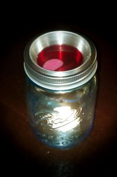 using a mason Jar to make your own wax burner - Google Search