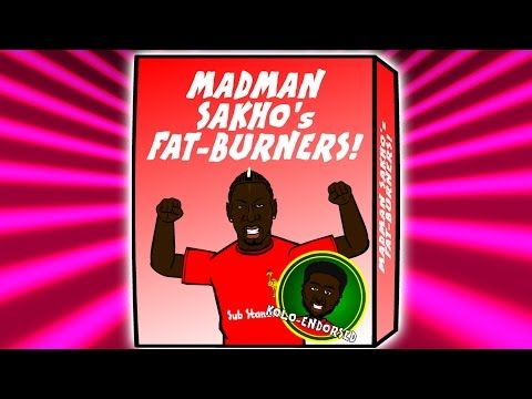 Mamadou Sakhos failed drugs test at Man United v Liverpool gets a cartoon remake (Video)