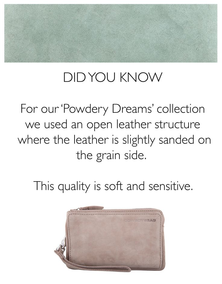 Cowboysbag - Did you know