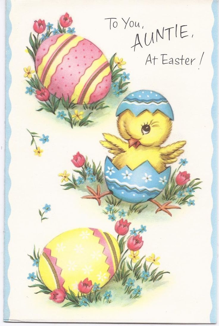 884 best old vintage easter cards images on pinterest vintage e94 vintage 60s unused childs easter greeting card auntie kristyandbryce Choice Image
