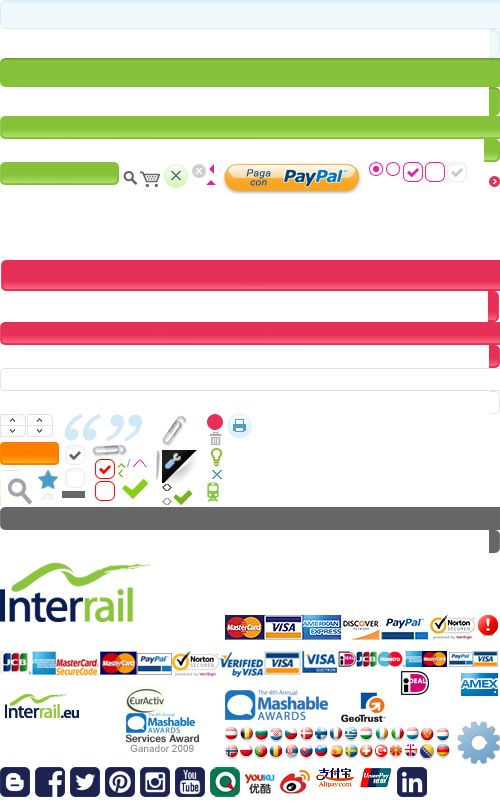 Interrail.eu   Horarios de trenes europeos de Interrail