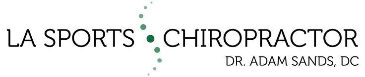 Banner logo I designed for LA Sports Chiropractor #chelseachodesigns