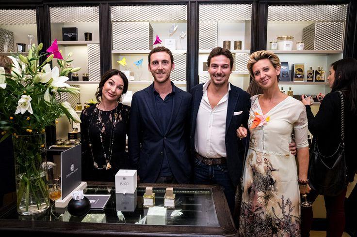 Fragranze in un battito, 7 ottobre 2015, Campomarzio 70, Roma, con Gabriella Chieffo e Luca Maffei