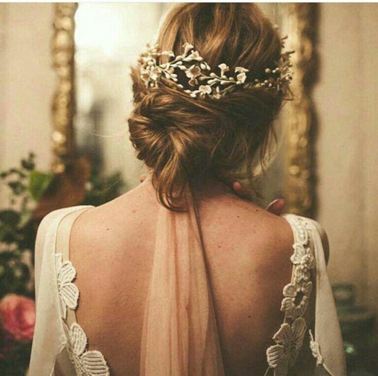 accessoires cheveux coiffure mariage chignon mariée bohème romantique retro, BIJOUX MARIAGE (17)