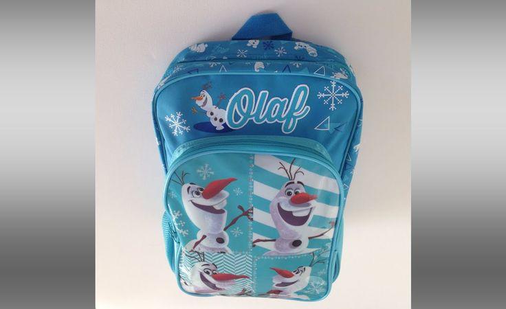 Disney Frost, Olaf skoletaske / rygsæk til børn