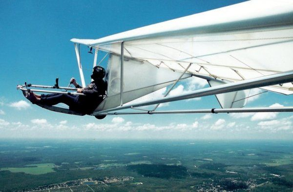 Super Floater glider (¿1977?) it´s a home-built plane. | Unorthodox Flying Machines | Pinterest ...
