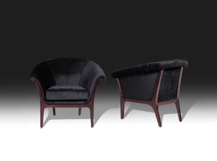 Meurice lounge chairs at Fendi Casa
