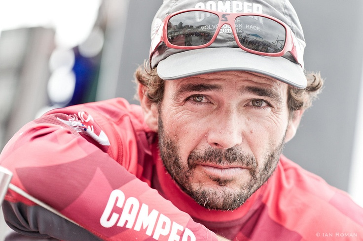 Roberto Bermudez de Castro, Helmsman, CAMPER with Emirates Team New Zealand