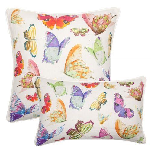 Sierkussen Print Vlinders bij Zarahome.com