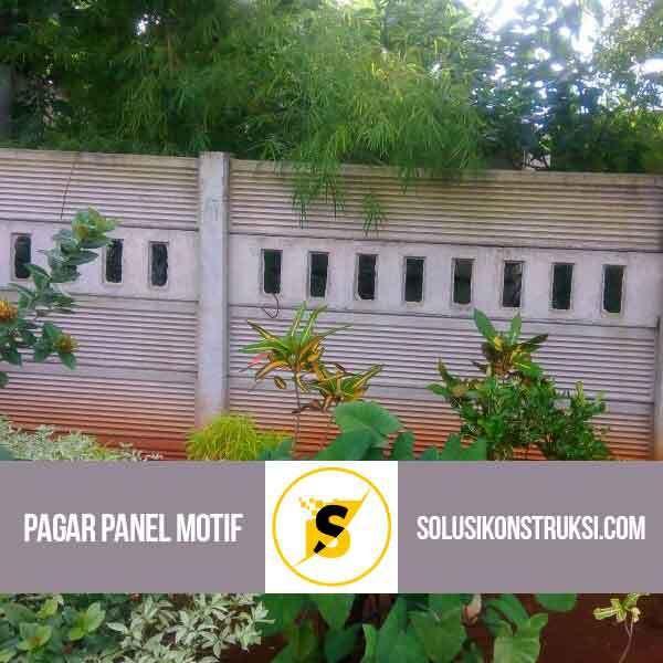 Pagar Panel Beton Motif K-200 240x40x5