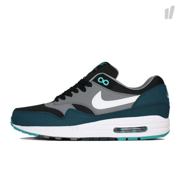 Nike Air Max 1 Schwarz Grau