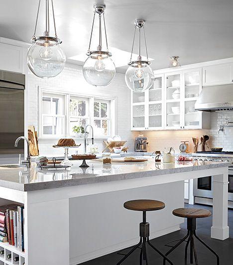 Clean White Kitchen | Rejuvenation