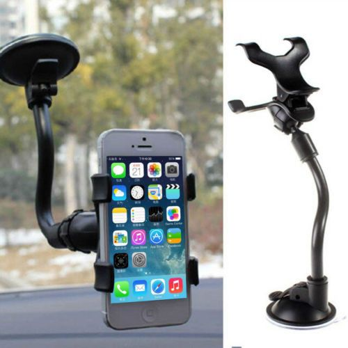 360°Rotating Car Universal Windshield Mount Holder Stand Bracket for CELL Phone
