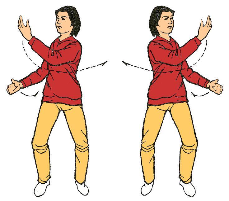 10. Mover las manos como nubes ( tu mirada sigue la palma de la mano frente a la cara )  Activa bazo, páncreas y estomago Aporta firmeza aplomo e incrementa la empatía
