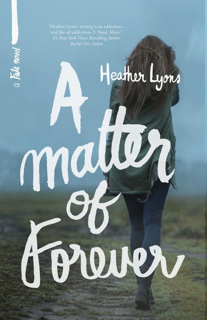 Today we're participating in the release day launch  giveaway for A Matter of Forever.  A Matter of Forever by Heather Lyons is the fourth and final book in the Fates series -- a new adult contemporary.  Check out an excerpt of the book and find out how to get all four for just 99 cents each!