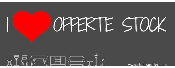 OFFERTA STOCK ULTIMI PEZZI Oltre 30 prodotti in vendita su Chairsoutlet con prezzi a partire da € 29,00! Super #sconti su #Sgabelli, #Sedie, #Tavoli e Accessori d'arredo. Approfittane ;-) -> www.chairsoutlet.com