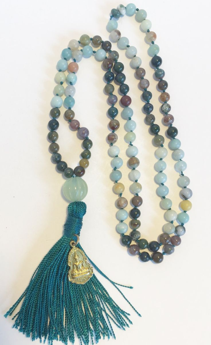 A personal favorite from my Etsy shop https://www.etsy.com/listing/230243581/108-bead-japa-mala-meditation-prayer