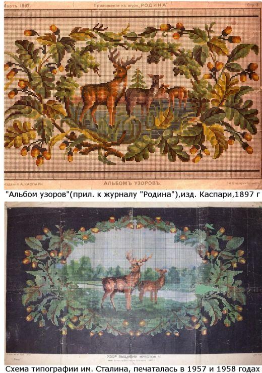 (1) Gallery.ru / Фото #3 - Родословная советских схем и вышивок - Kalla