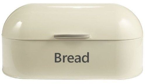 Cream-Retro-Dome-Style-Bread-Bin-Oval-Food-Storage-Bread-Boxes-Shipping-is-Free