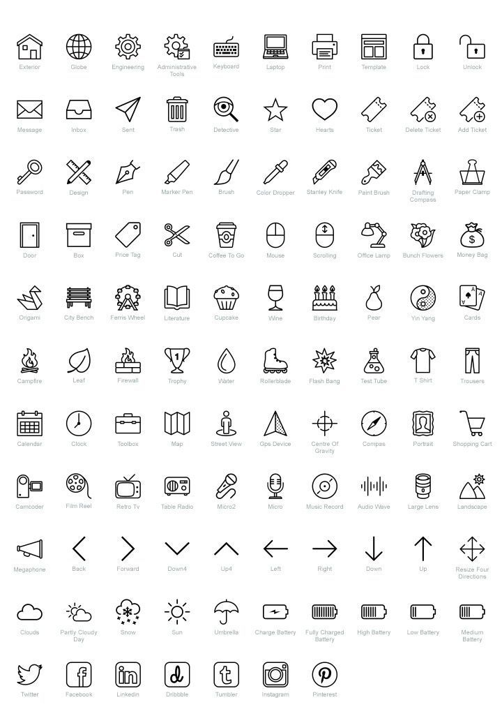 100 Free Psd Icons For Ios Fribly Free Icon Set Doodle