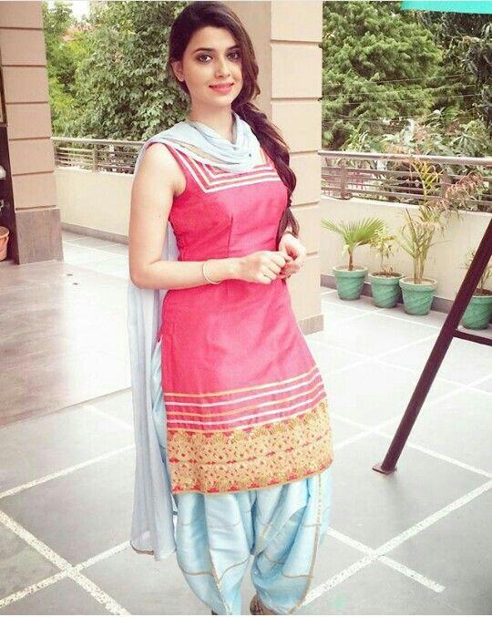 Punjabi suit nimrat