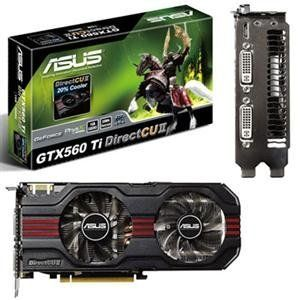 Geforce GTX560 1GB PCIe2 (ENGTX560 TI DCII/2DI/1GD5) - by Asus. $284.45. Manufacturer:  ASUS Computer InternationalManufacturer Part Number:  ENGTX560 TI DCII/2DI/1GD5Manufacturer Website Address:  Brand Name:  AsusProduct Model:  ENGTX560 TI DCII/2DI/1GD5Product Name:  ENGTX560 TI DCII/2DI/1GD5 GeForce GTX 560 Ti Graphics CardProduct Type:  Graphics CardRAMDAC Speed:  400 MHzMaximum Resolution:  2560 x 1600Analog Signal:  YesDigital Signal:  YesDual Link DVI Support:  YesC...