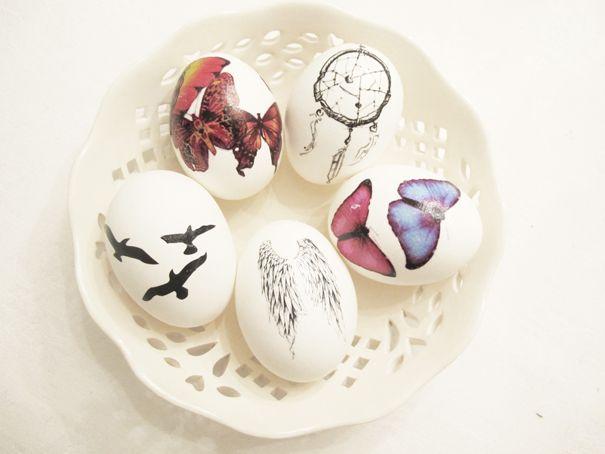 #Tatueringar. Ett hett tips till påsk: Tatuera äggen!