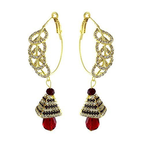 Ethnic Gold Plated Indian Bollywood Red & White Cz Party ... https://www.amazon.com/dp/B01MYEBHC9/ref=cm_sw_r_pi_dp_x_uLcLybNF63NMQ