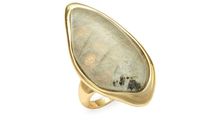 Buy Alexis Bittar Women's Metallic Labradorite, White Quartz & 10k Gold-plated Ring, starting at $138. Similar products also available. SALE now on!