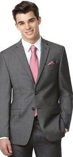 Dessy Yarn Dyed Necktie Groomsmen Accessory in Dusty Rose