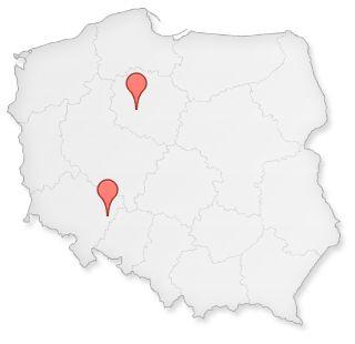 My działamy w Bydgoszczy, towar jest wysyłany do Was z naszego magazynu w Siechnicach