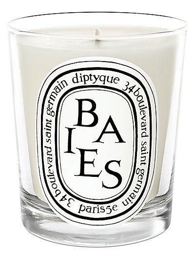 Dyptique Baies candle
