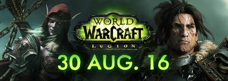We have a release date for World of Warcraft: Legion--August 30th, 2016. #Wowhead #Legion #WoW #WorldofWarcraft #Warcraft