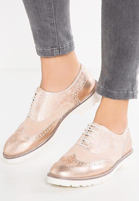 Chaussures Pier One Derbies - rose gold or rose: 60,00 € chez Zalando (au 01/05/17). Livraison et retours gratuits et service client gratuit au 0800 915 207.