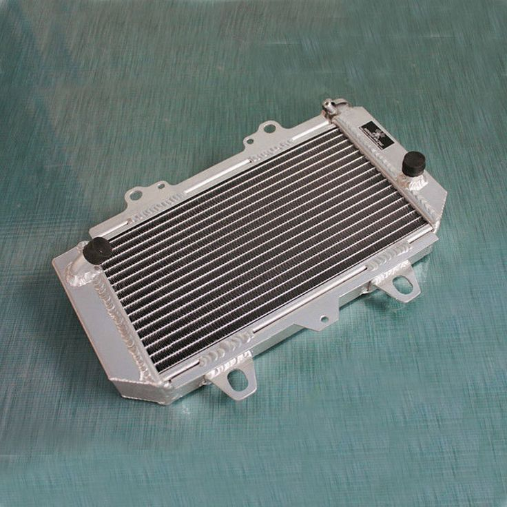 93.00$  Buy now - http://ali2k0.worldwells.pw/go.php?t=32617485329 - Jungle Army ATV Parts accessories ALUMINUM RADIATOR For YAMAHA ATV QUAD YFZ450 2004-2008 2012  engine cooling parts 93.00$