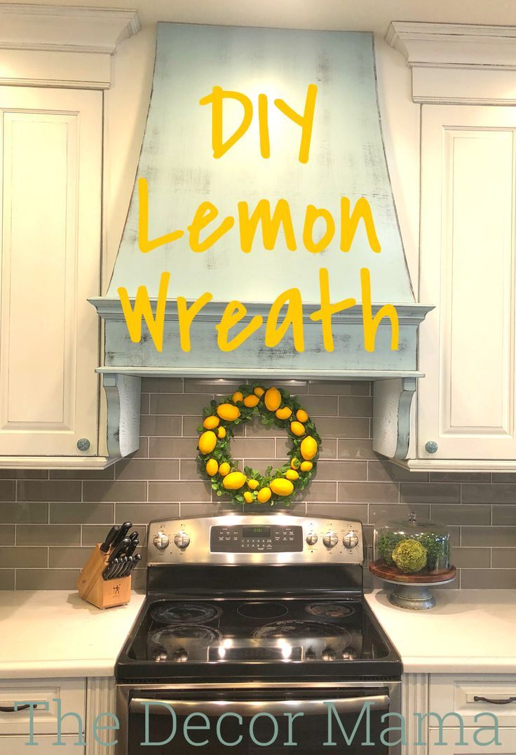 Pleasing Diy Lemon Wreath Diy Home Decor Lemon Wreath Diy Interior Design Ideas Helimdqseriescom
