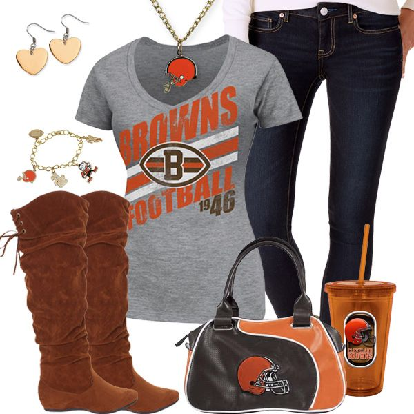 Cleveland Browns Fashion - Trendy Chill Browns Fan