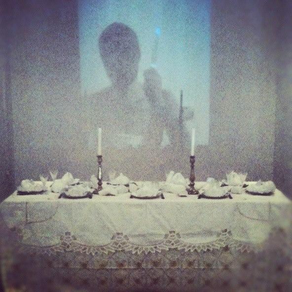 supper i.s  installation/video art