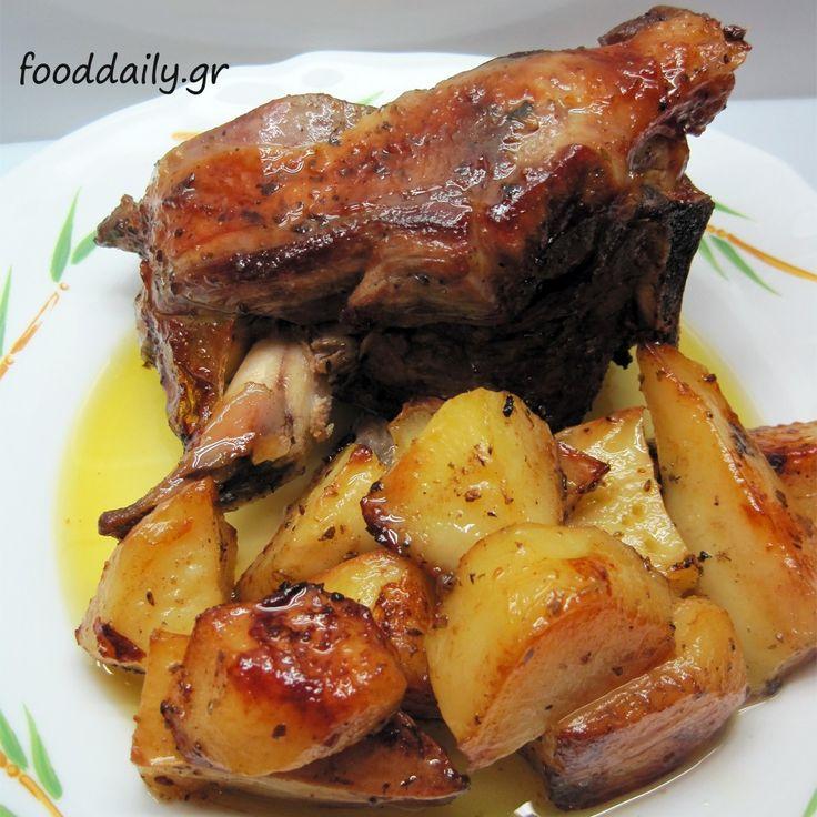 Αρνί με πατάτες στο φούρνο