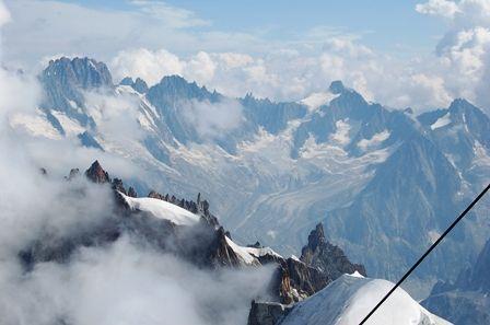 モンブラン山系