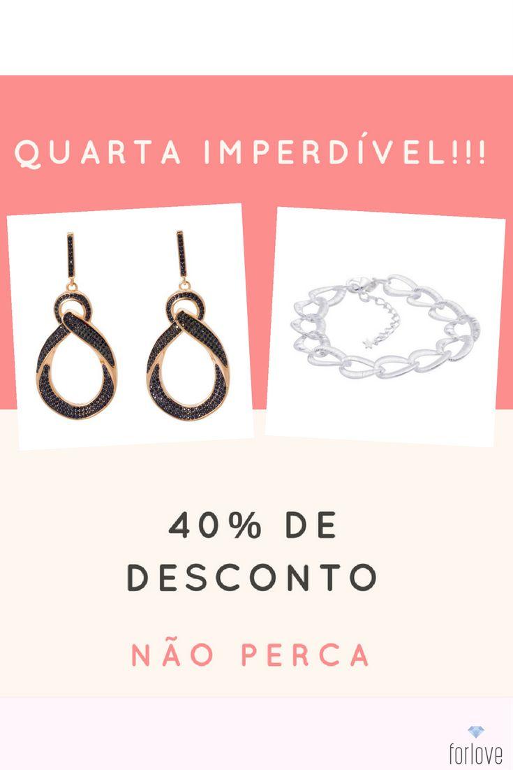 Quarta Feira da PROMOÇÃO IMPERDÍVEL!!! Estas duas lindas joias com 40% de desconto. Confira agora... https://forlove.com.br/brincos/brinco-rodio-negro/brinco-dourado-gota-trancada-zirconia-rodio-negro.html https://forlove.com.br/pulseiras/pulseira-banhada-prata/pulseira-prata-elosgrandes-foscos.html  #brinco #brincoslindos #semijoias #modafeminina #brincos #modaparagarotas #moda #brincorodio #brincodourado #rodio #acessoriosfemininos #vendaonline #pulseira #amoacessorios #fashion #moda…