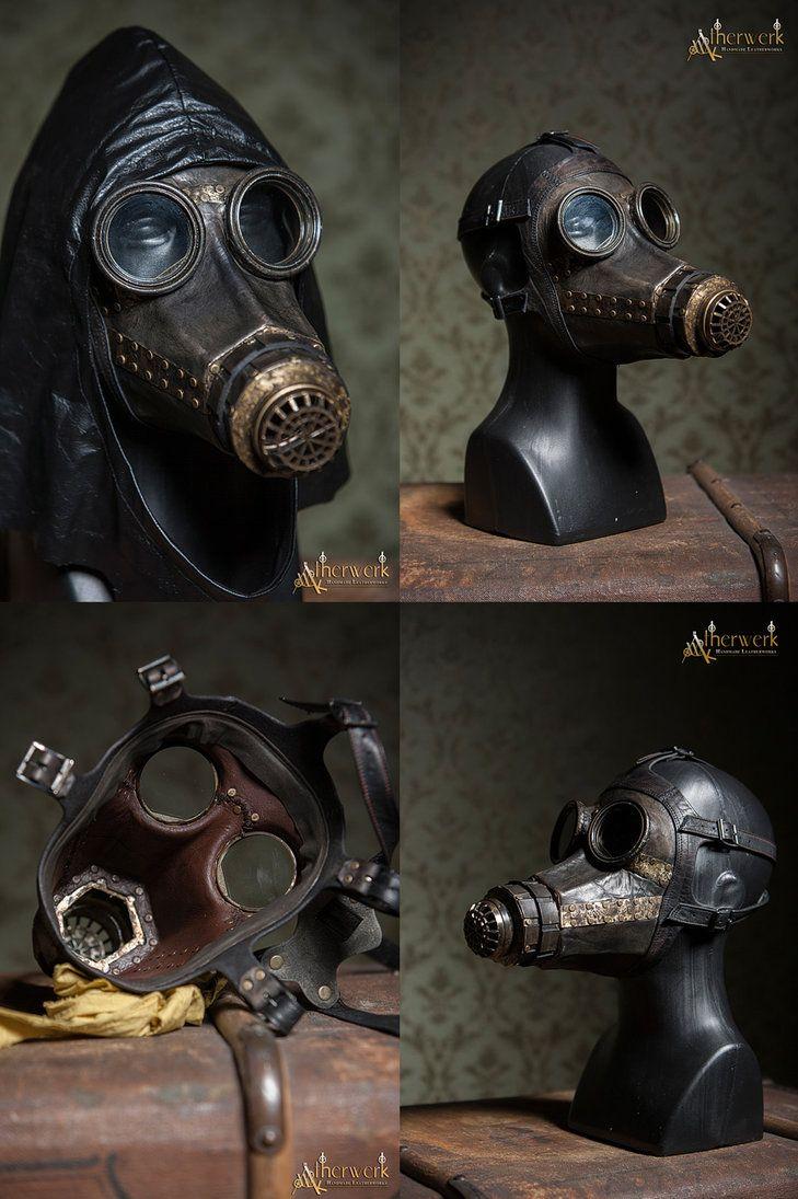 Steampunk / Dieselpunk Gasmask by Aetherwerk